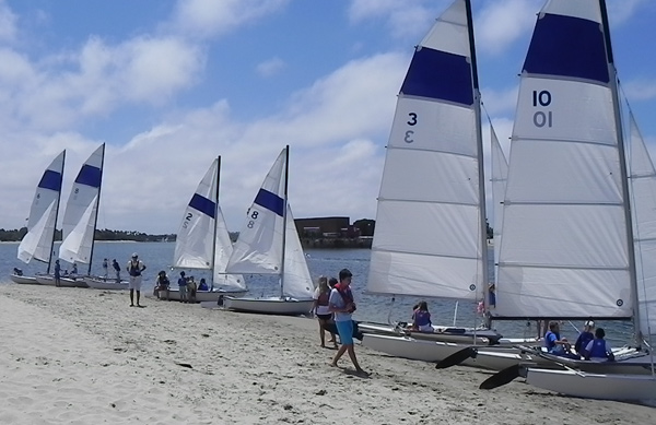 Sailing renters at MBAC