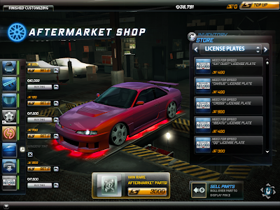 Need For Speed World - Aftermarket Shop 1