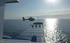 pilot arriving