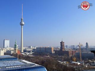 Berlín - Vistas desde la Cúpula de la Catedral