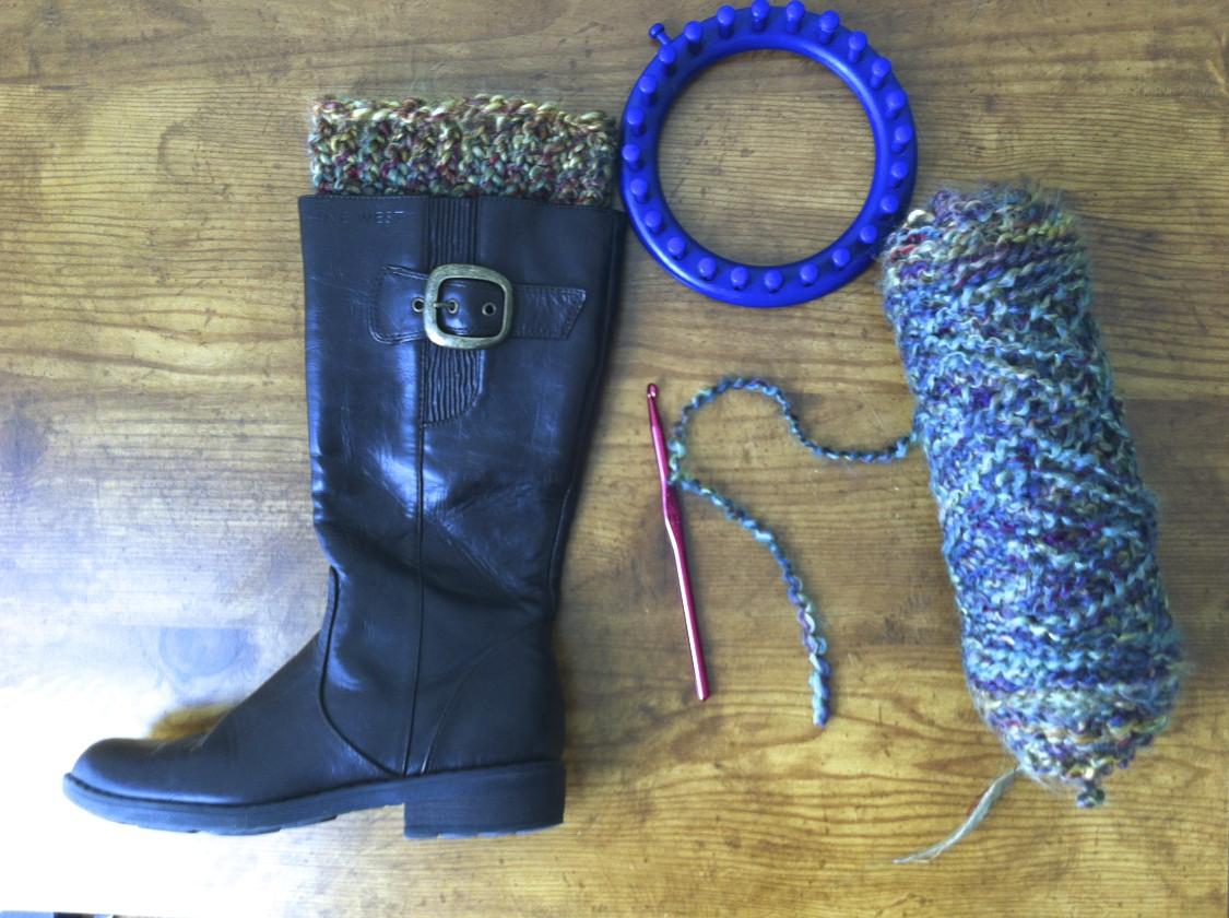 Sew Spoiled Boot Cuff Tutorial