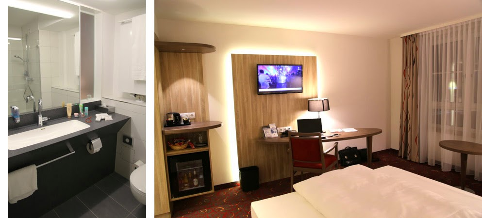 Hotel Alarun, Zimmer, Bad