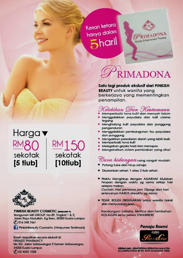 PRIMADONA BREAST ENLARGEMENT