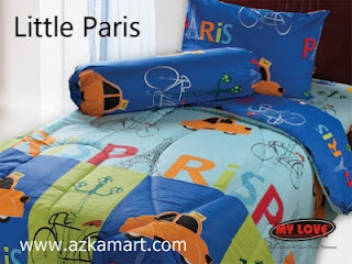 Sprei My Love Little Paris