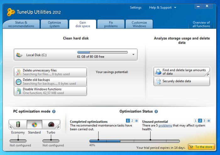 Descargar TuneUp Utilities 2012 Con Serial Y Keygen