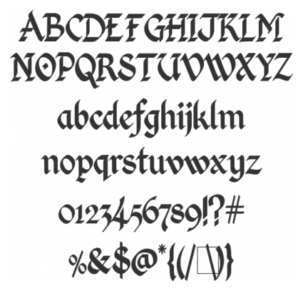 Calligraphy Calligraphy Fonts