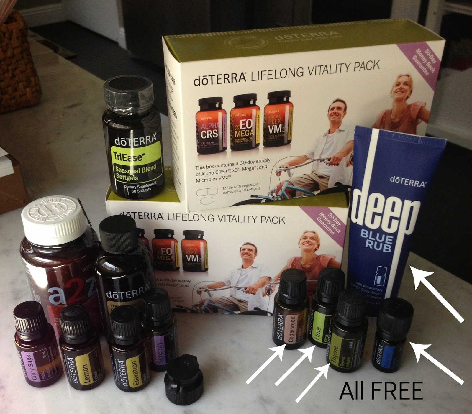 doTERRA Essential Oils has benefits that help you to earn points for FREE oils! Find out how :: OrganizingMadeFun.com