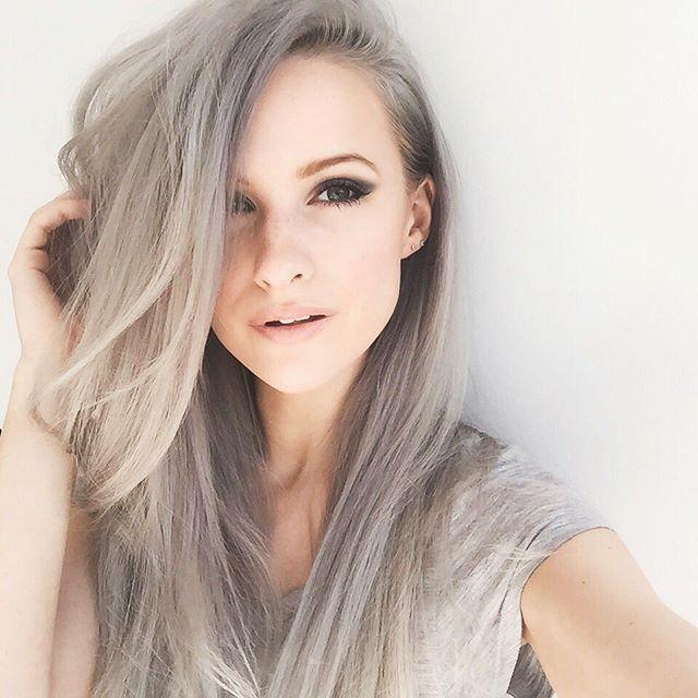 Как покраситься в серый цвет