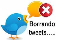 Como borrar tweets. Herramientas. Esmeralda Diaz-Aroca