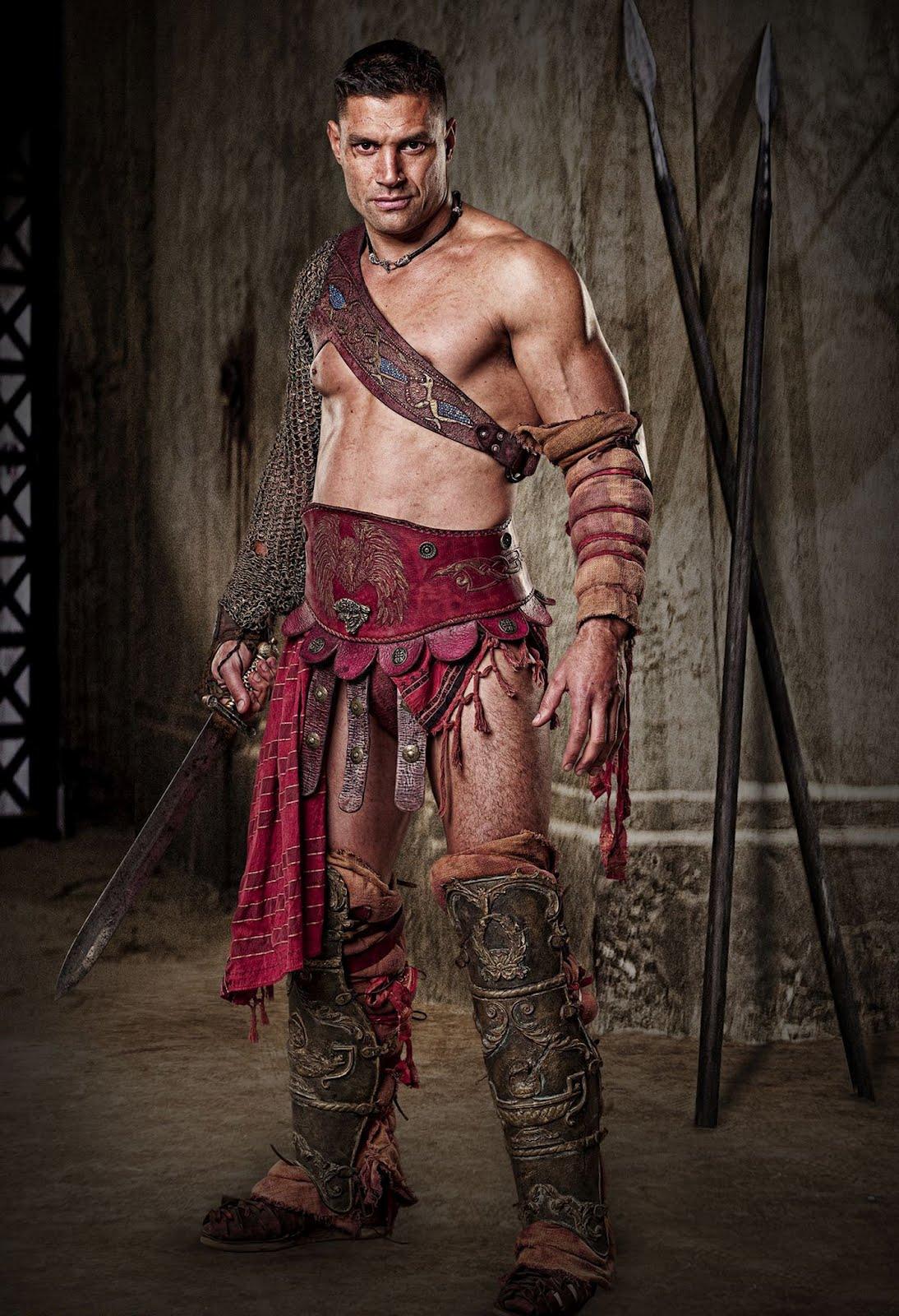 Spartacus men Nude Photos 42