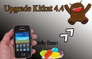 Cara Mudah Upgrade Smartphone Galaxy Young ke Android Kitkat 4.4