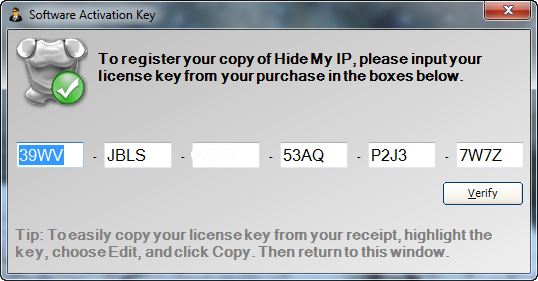 hide all ip serial key 2018