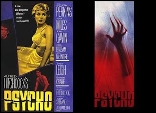 Remake Psicosis, poster, cartel, carátula, portada