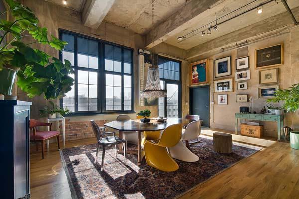 Decoraxpoco tendencia sillas diferentes para el comedor for Loft home designs australia