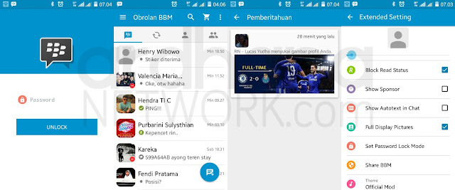 Preview BBM MOD Official V2.11.0.16