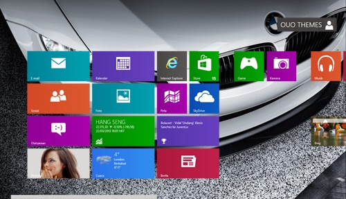 BMW M3 Theme For Windows 7 And 8 8.1