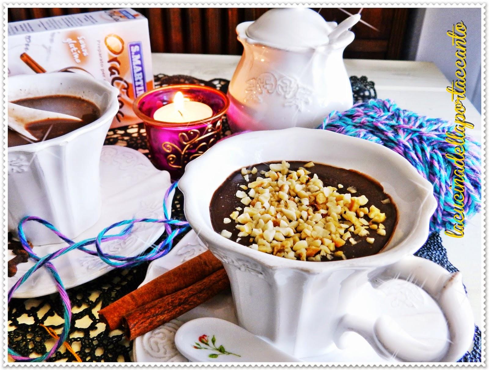 cioccolata alle spezie e nocciole piemontesi