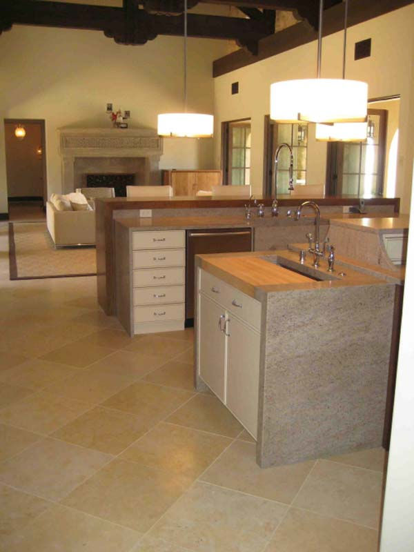 Kitchen floor ideas the kitchen design for Kitchen floor ideas