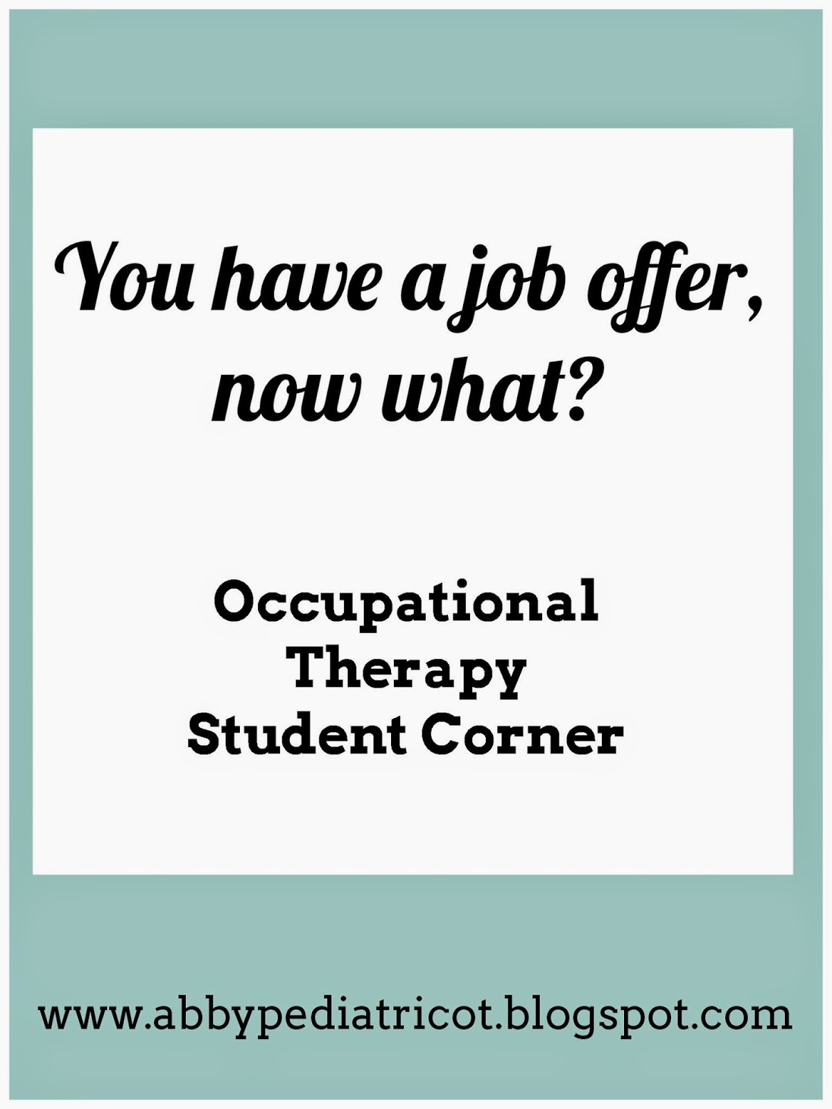 ot cafe 2015 here are a few things to keep in mind when choosing the best job for you