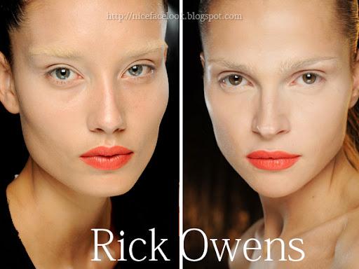 Грим с оранжеви устни