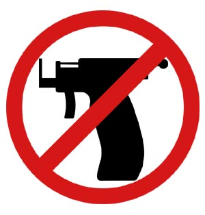 Pistola Não