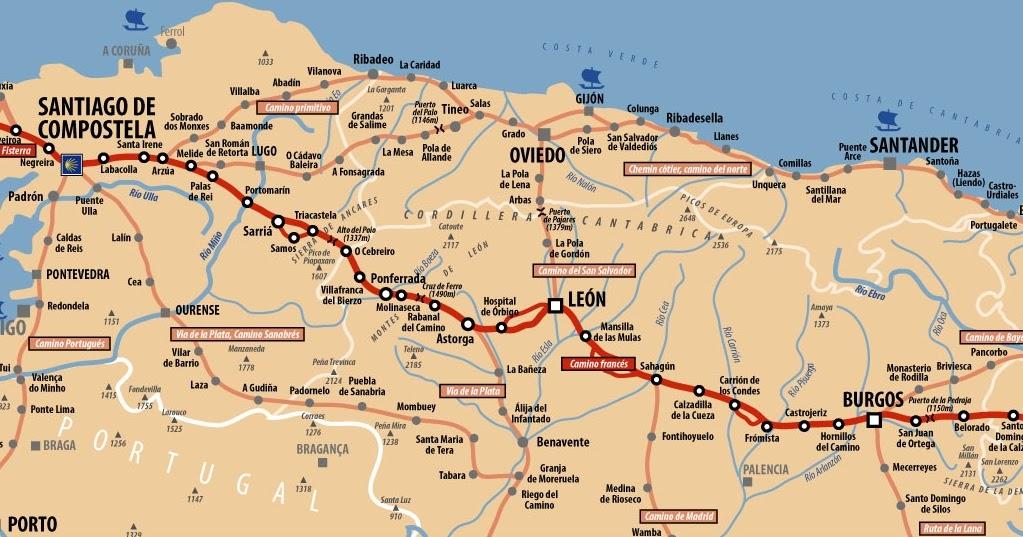 Mon voyage compostelle pr sentation de la partie espagnole - Meteo saint jean pied de port 12 jours ...