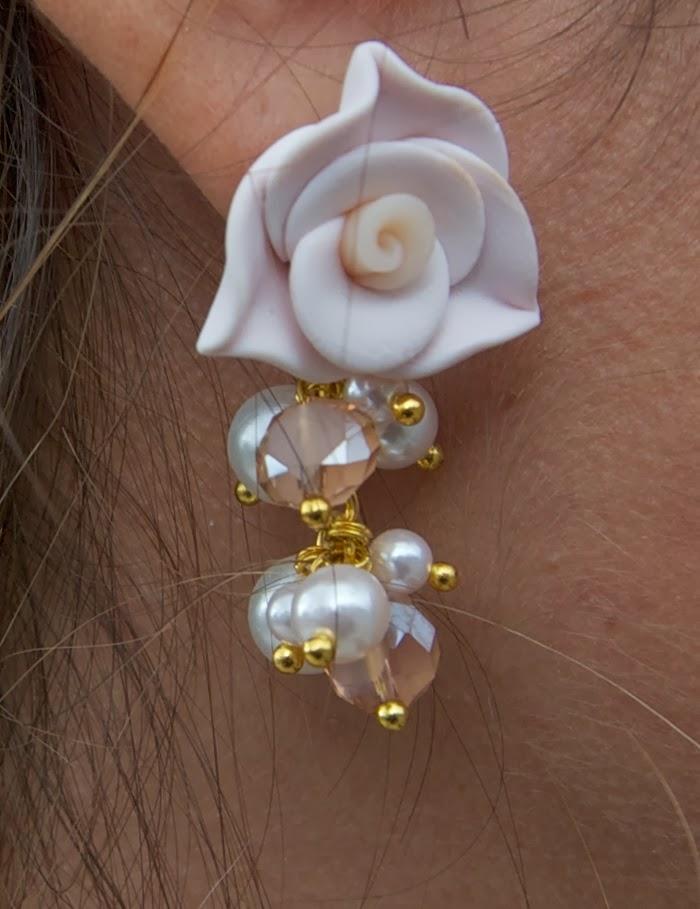 orecchini fimo
