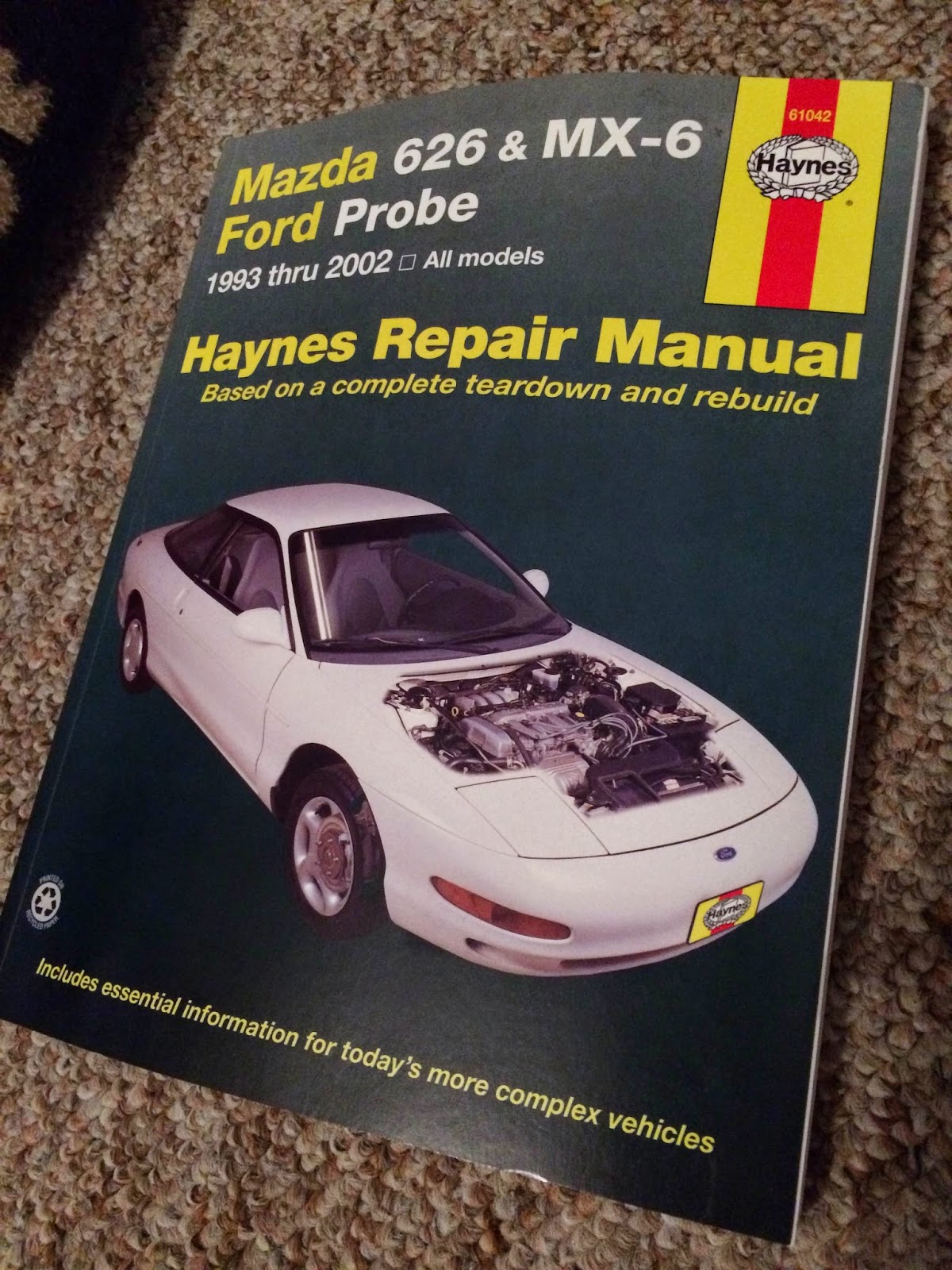 My Haynes Repair Manual turned up in the post a couple of days ago, and  I've spend some time flicking through it to get familiarised with the  teardown I ...