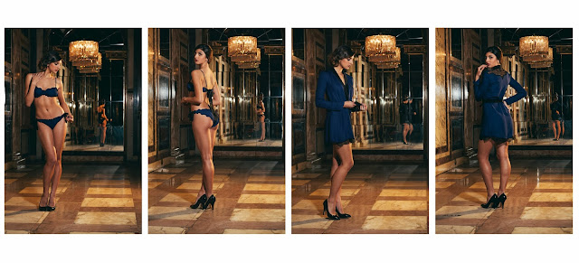 Lingerie and lounge wear by Angela Friedman