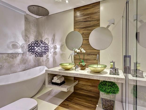 Construindo Minha Casa Clean 13 Banheiros com Piso de Madeira! -> Banheiros Modernos Em L