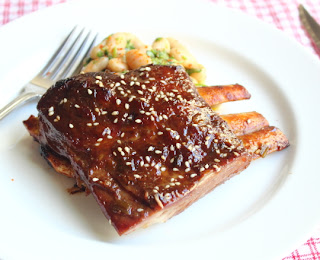 Root Beer Lamb Ribs Miela Tahril