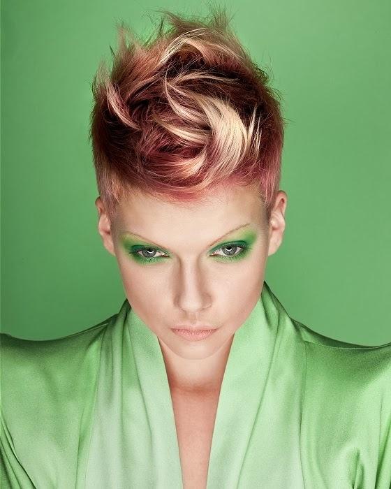 cool hair color ideas for short hair