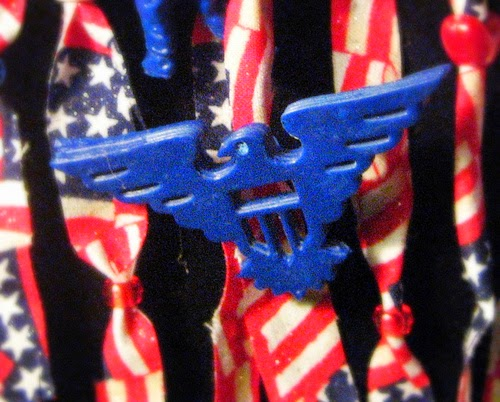 Patriotic Scarf-lace by Tanya Ruffin for Amazing Mold Putty using Die-Versions
