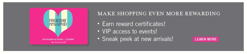 Christopher & Banks VIP Rewards Program