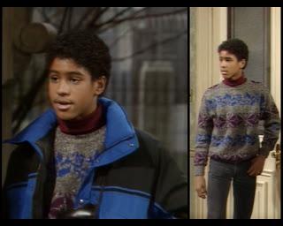 Cosby Show Huxtable fashion blog 80s sitcom Jason Warwin Tyrone