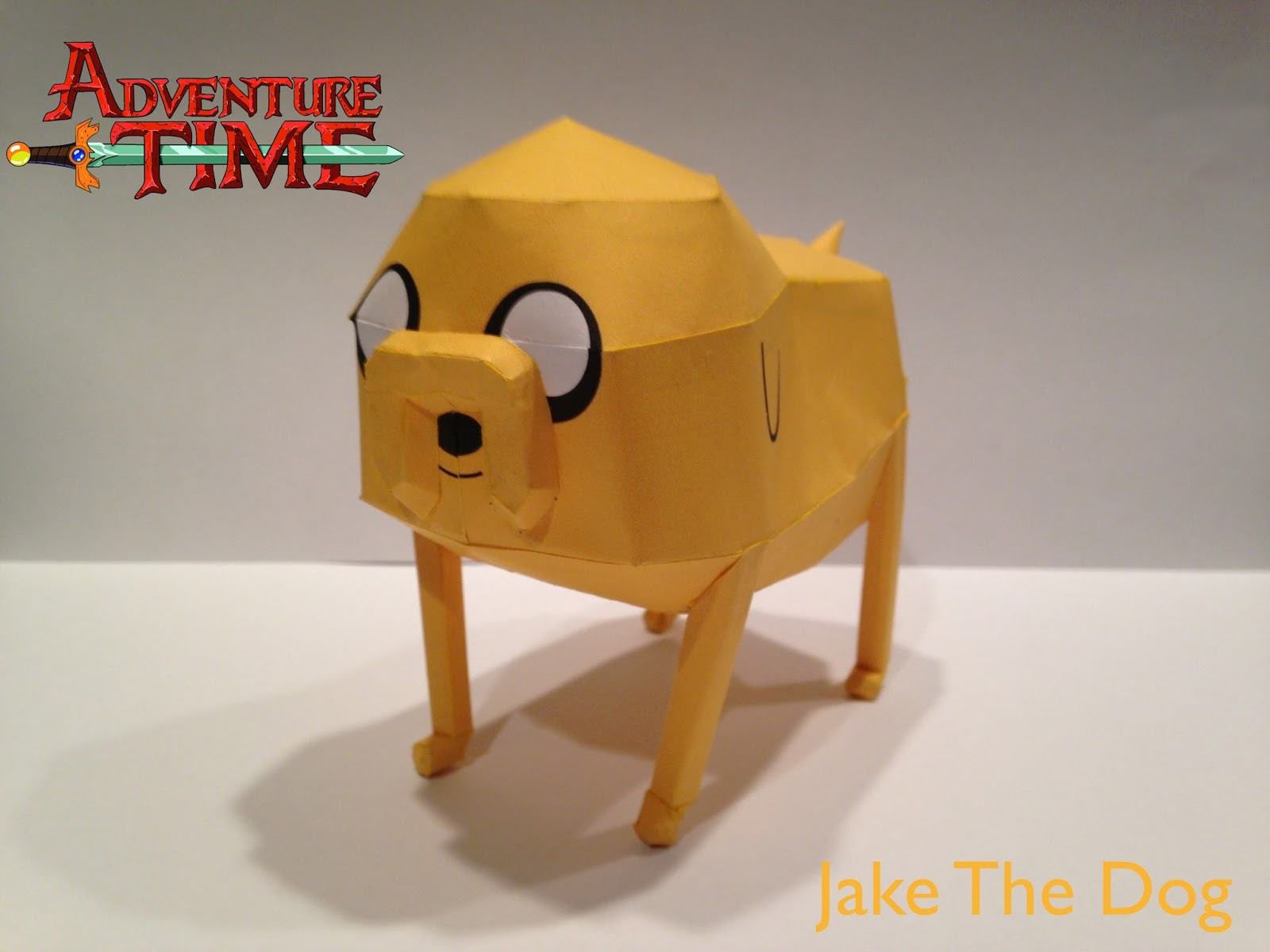 Jake the Dog Paper Model