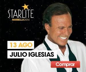!!! CONCIERTO JULIO IGLESIAS STARLITE !!!