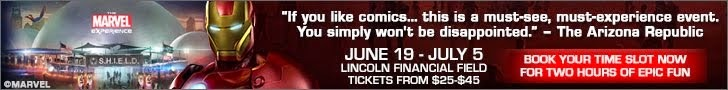 The Marvel Experience in Philly June 19th - July 5th