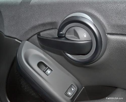 Fiat 500X Inside Door Lock - Locked
