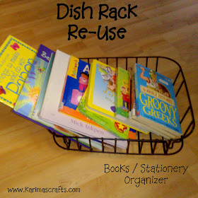 dish rack organizer upcycle muslim blog