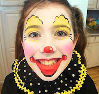 Easy face painting for kids ideas easy face painting for for Face painting clowns for birthday parties