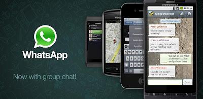 Antara Whatsapp, KakaoTalk, WeChat dan Line