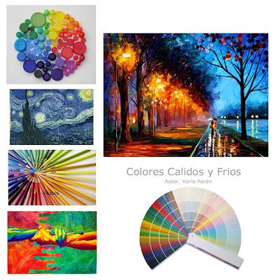 Ale pardo creativa la diferencia de los colores calidos y - Cuales son los colores calidos y frios ...