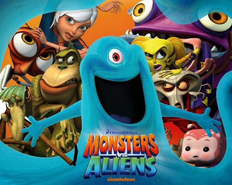 Monsters vs aliens cast