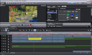 Tilt Shift Video Tutorial in Magix