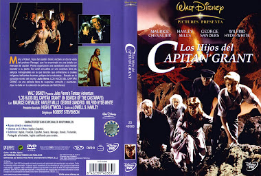 Carátula dvd: Los hijos del capitán Grant