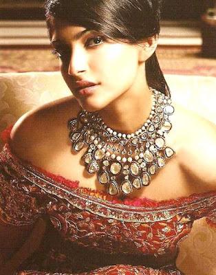 Sonam Kapoor Diamond Statement Necklace
