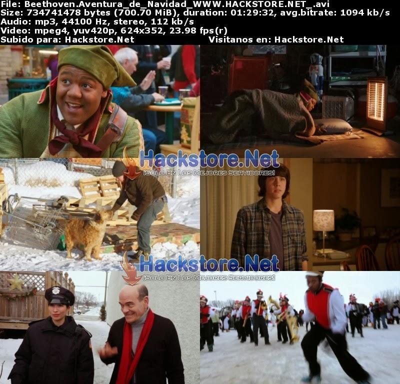 Captura Beethoven: Aventura de Navidad (2011) DVDRip Latino
