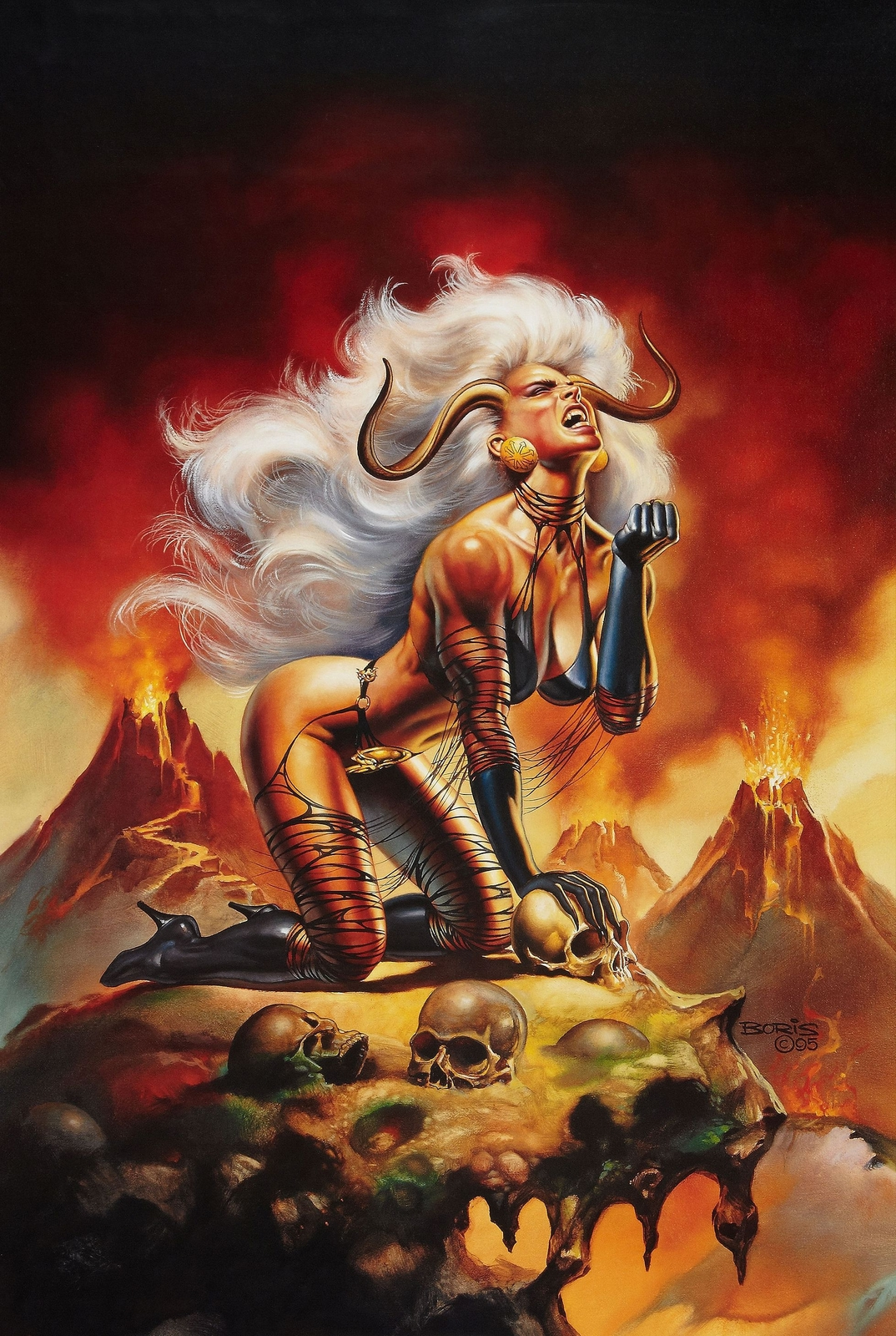 Demon lady rides xxx photos