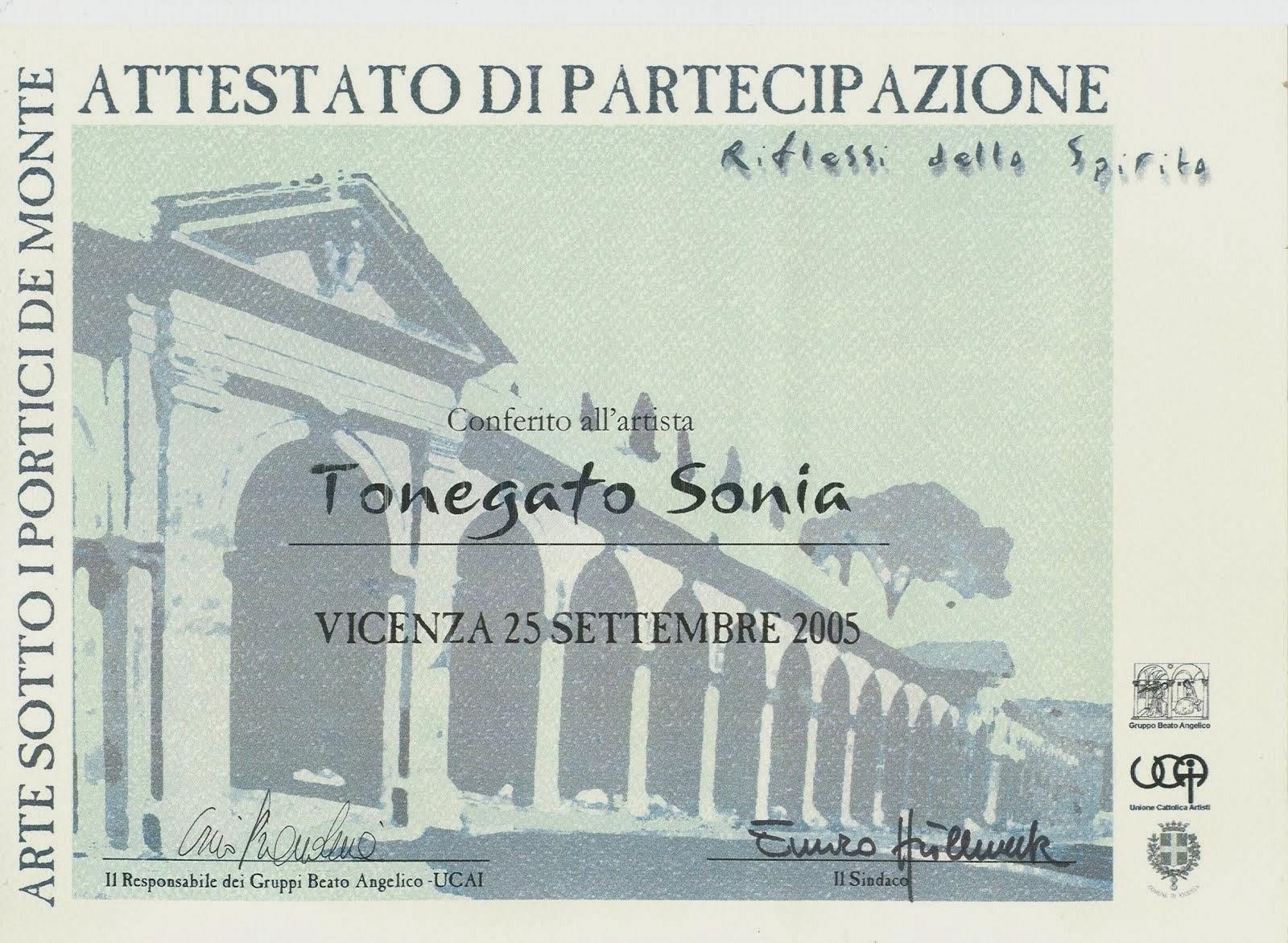 Anno 2005 - Arte sotto i Portici de Monte